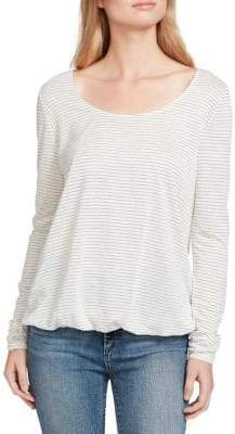 Jessica Simpson Synda Stripe Long Sleeve Top