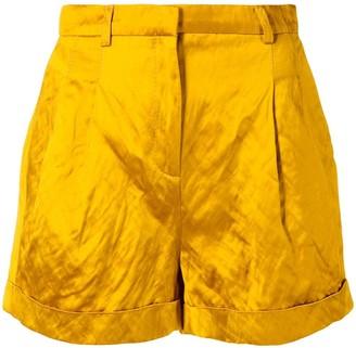 Philosophy di Lorenzo Serafini wide cuffed shorts