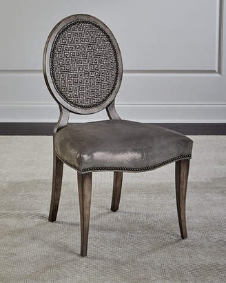 Massoud Fiorella Leather Dining Chair