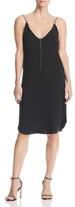 Kenneth Cole Chain Detail Slip Dress