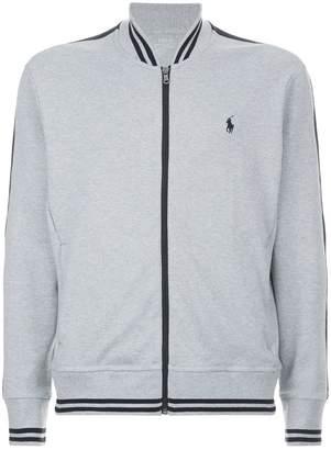Polo Ralph Lauren Stripe Zip Up Sweatshirt