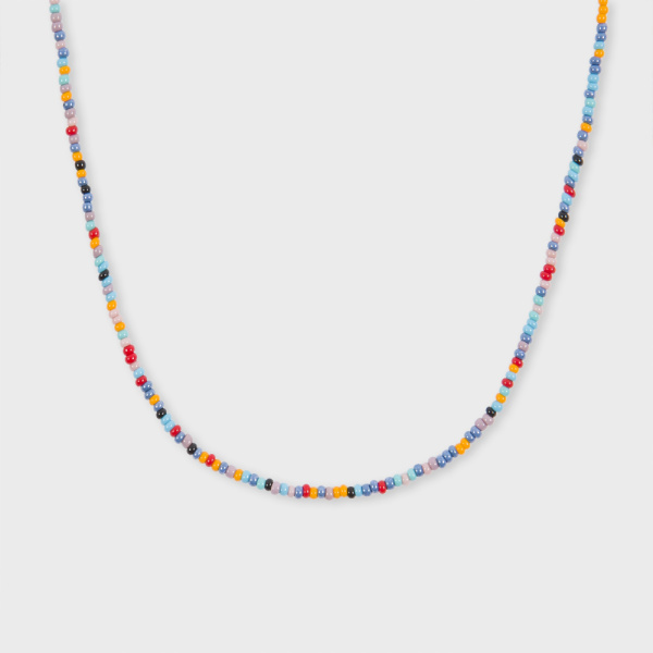 Paul Smith Men's Multi-Coloured Bead Necklace