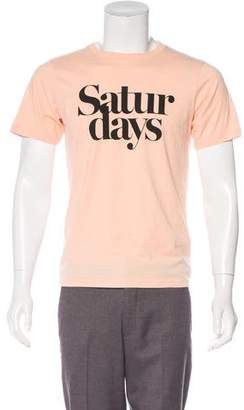 Saturdays NYC Printed Short Sleeve T-Shirt