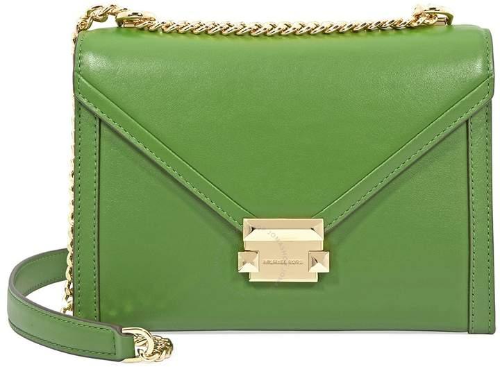 3529690135d9 Michael Kors Whitney Large Shoulder Bag- True Green - ONE COLOR - STYLE