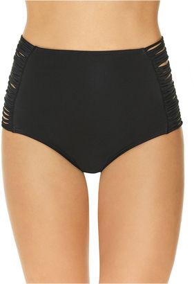 ARIZONA Arizona Solid High Waist Swimsuit Bottom-Juniors $36 thestylecure.com