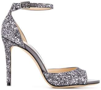 Jimmy Choo glitter embellished sandals