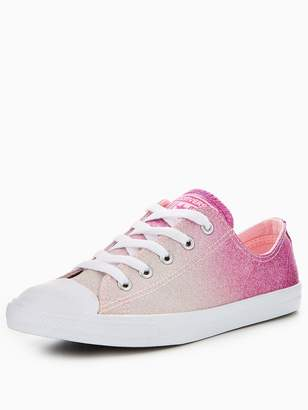 at Very Converse Chuck Taylor All Star Dainty Ombre Metallic Ox