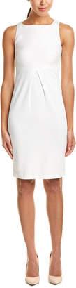 Max Mara Linen-Blend Sheath Dress