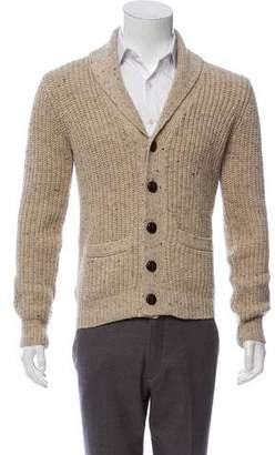 Gant Wool-Blend Rib Knit Cardigan