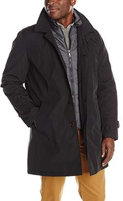 Tommy Hilfiger Men's Poly-Twill Trench Coat