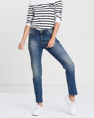 Maison Scotch Petit Ami Slim Boyfriend Fit Jeans