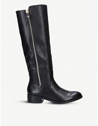 Aldo Gaenna leather knee-high boots