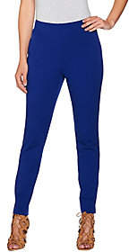 Women with Control Attitudes by Renee Stretch Supreme Knit Pull-OnAnkle Pants