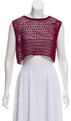 Elizabeth and James Sleeveless Knit Cop Top w/ Tags
