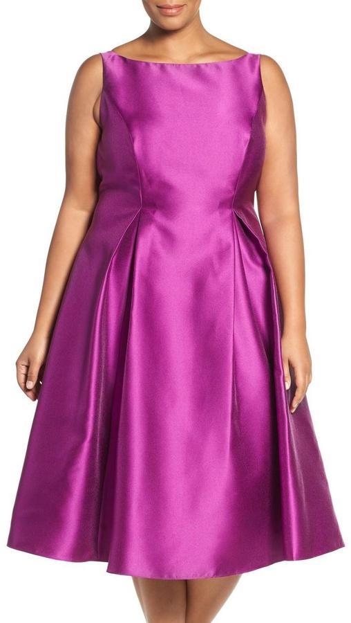 Adrianna PapellAdrianna Papell - Bateau Short Dress 41899071