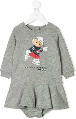 Ralph Lauren Kids Polo Bear dress & bloomer