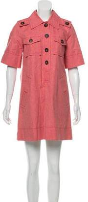 Marc by Marc Jacobs Button-Accented Mini Dress w/ Tags