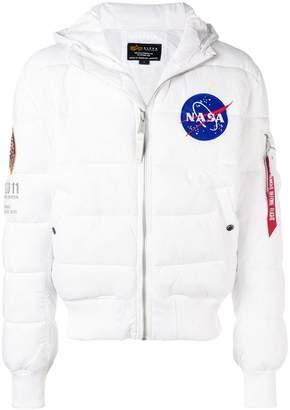 Alpha Industries hooded padded jacket