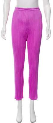 Pleats Please Issey Miyake High-Rise Plissé Pants