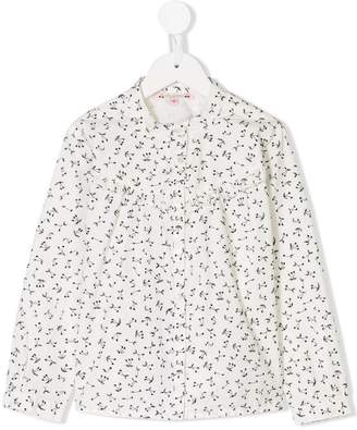 Bonpoint Julia cherry print shirt