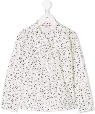 Bonpoint Julia cherry print shirt