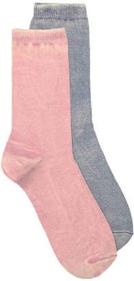 Mix No. 6 Sweatshirt Crew Socks - 2 Pack - Women's