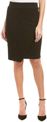 Splendid Crossover Pencil Skirt