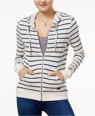 Roxy Juniors' Striped Hoodie $39.50 thestylecure.com