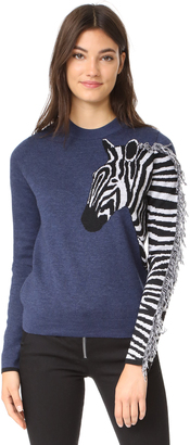 Paul Smith Zebra Sweater $295 thestylecure.com