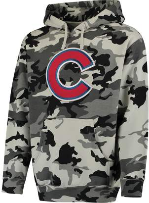 Stitches Men's Black/Camo Chicago Cubs Pullover Hoodie