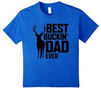 Best Buckin' Dad Ever T-Shirt - Deer Hunting Father's Gift