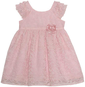 da77d1779061f Marmellata Ballernia Short Sleeve Floral A-Line Dress Girls