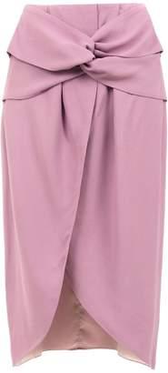 Framed Teshima midi skirt