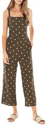 Faithfull The Brand Playa Polka Dot Jumpsuit