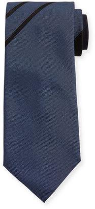 TOM FORD Asymmetric Stripe Silk Tie $250 thestylecure.com