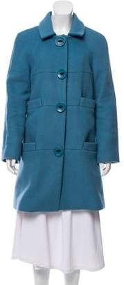 Marc by Marc Jacobs Knee-Length Wool Coat