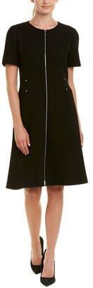 Lafayette 148 New York Sonya Wool Shift Dress