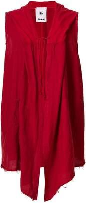 Lost & Found Rooms sleeveless longline cardigan