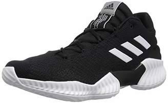 adidas Men's Pro Bounce 2018 Low Basketball Shoe White/Black