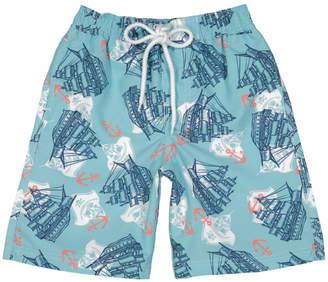 E Land Boys' Pirate Swimsuit
