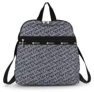 Le Sport Sac Rebecca Logo Backpack