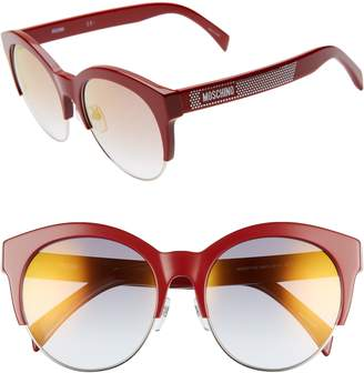 bba77d4f3c Moschino Red Women s Sunglasses - ShopStyle
