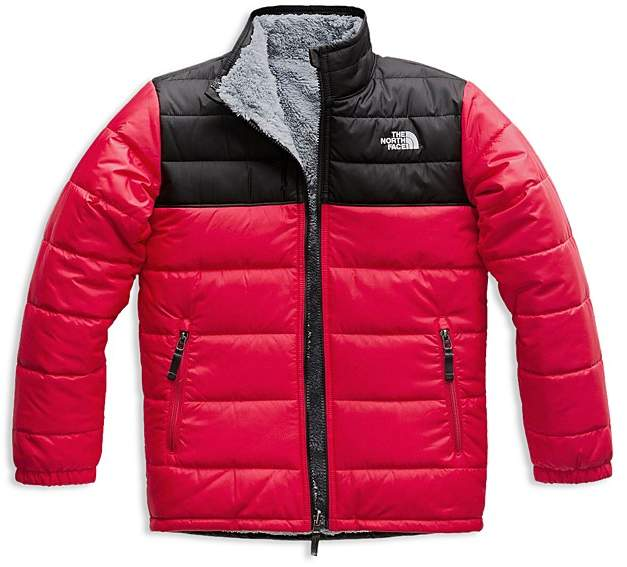 The North Face® Boys' Reversible Mount Chimborazo Quilted & Fleece Jacket - Little Kid, Big Kid