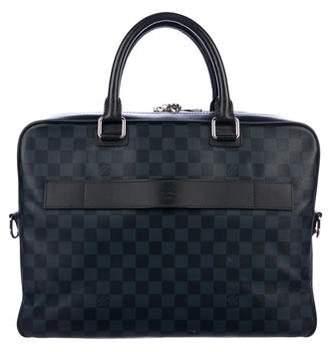 Louis Vuitton Damier Cobalt Porte Documents Business Briefcase