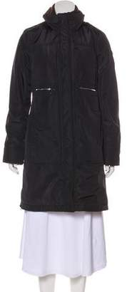 Post Card Long Puffer Coat