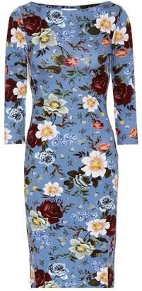 Erdem Reese printed jersey dress