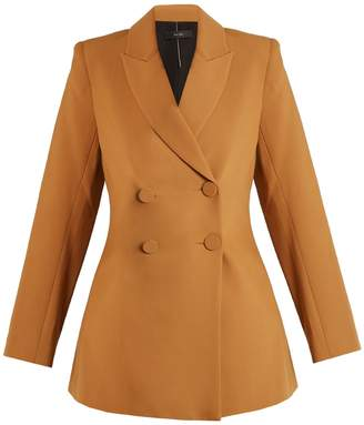 Ellery Affluent Peak-lapel double-breasted jacket
