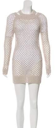 AllSaints Crochet Tunic
