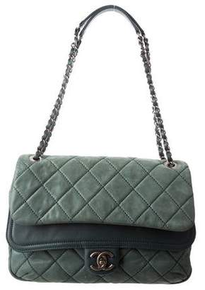 Chanel Iridescent Calfskin In the Mix Jumbo Double Flap