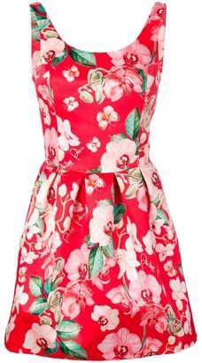 Philipp Plein Bambola floral print mini dress
